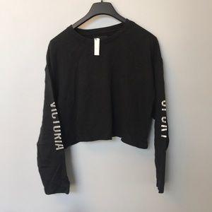 NEW VS Sport Crop Top Sweatshirt
